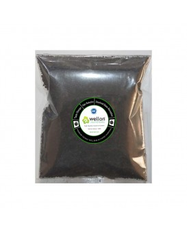 WELLON Granular Activated Carbon Premium Coconut Shell Powder for Water Purification and Air Purification. (250 Grams)