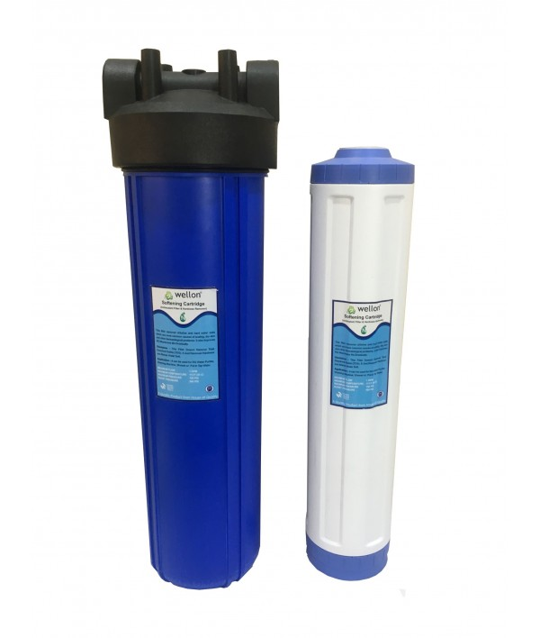 WELLON Water Softener for Whole House Water Filtration System (20 in Jambo)
