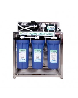 Wellon 25 LPH Commercial  RO+UV with TDS Controller Water Purifier
