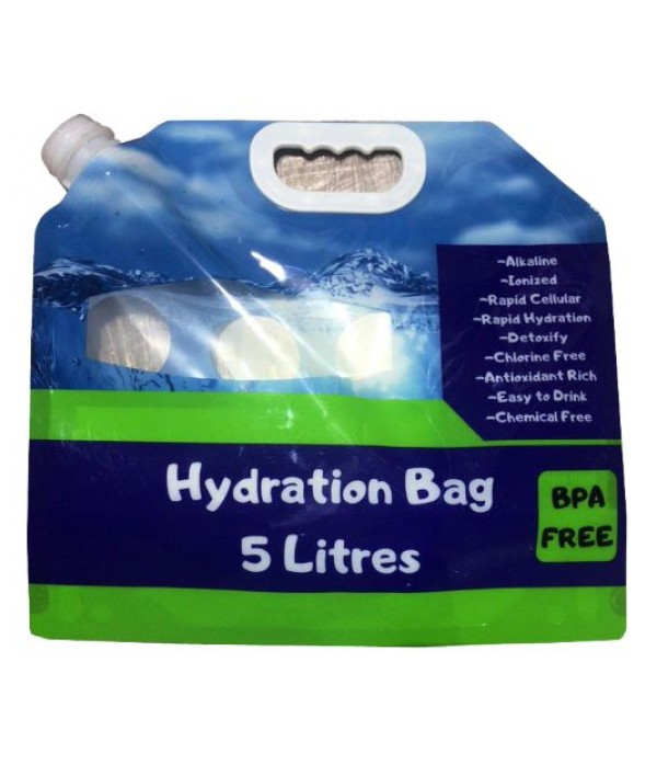 WELLON HYDRATION BAG 5 LITERS FOR ALKALINE IONIZED WATER BPA FREE