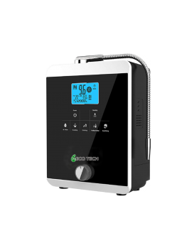 NECOTECH 11 plates Alkaline Water Ionizer Machine (AL-808B) (Black)