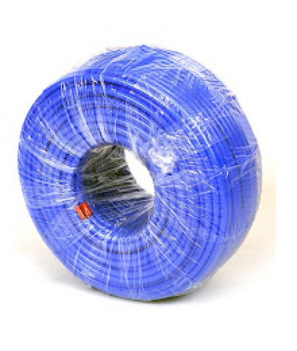 Wellon Blue Plastic Flexible 1/4 Pipe/Tube Roll for Water Purifier- 300 Meters