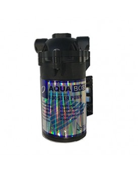 Aquaboss Iron 100 GPD Booster Pump (Black)