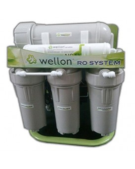 Wellon 40 LPH Commercial  RO+ALKALINE  with TDS Controller Water Purifier