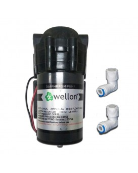 7f40218f63a Wellon 100 GPD RO Booster Pump for All Types of Water Purifier ...