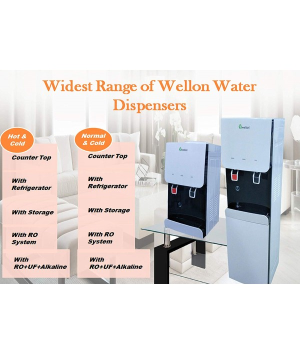 WELLON Table Top Water Dispenser (Hot & Cold)
