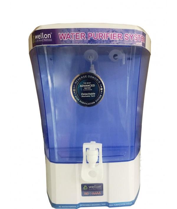 WELLON Touchix Premium Gold Alkaline Water Purifier System - 10 Ltrs