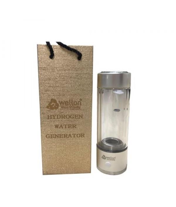 WELLON Hydrogen Rich Generator Water Bottle PEM Technology Ionizer