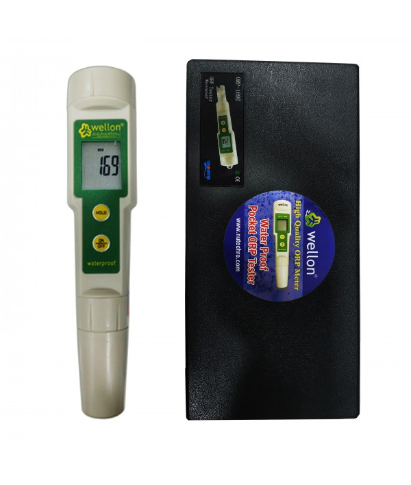 Wellon Plastic ORP Meter Oxidation Reduction Tester for Water Purity