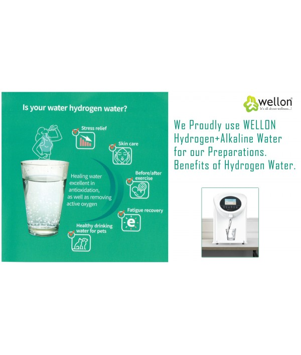 Wellon New Personal Health Care Hydrogen Alkaline Water Generator Household Equipment(CE Certification)