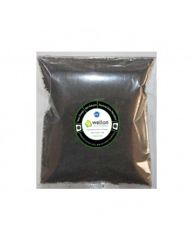 WELLON Granular Activated Carbon Premium Coconut Shell Powder for Water Purification and Air Purification. (1 Kg)