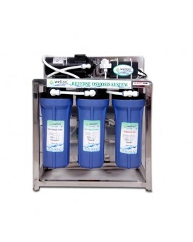 Wellon 25 LPH Commercial  RO+UF with TDS Controller Water Purifier