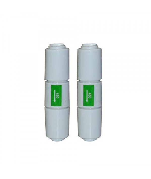 Wellon High Quality 450 Flow Restrictor (FR) for All Types of RO Water Purifier (450-GREEN)